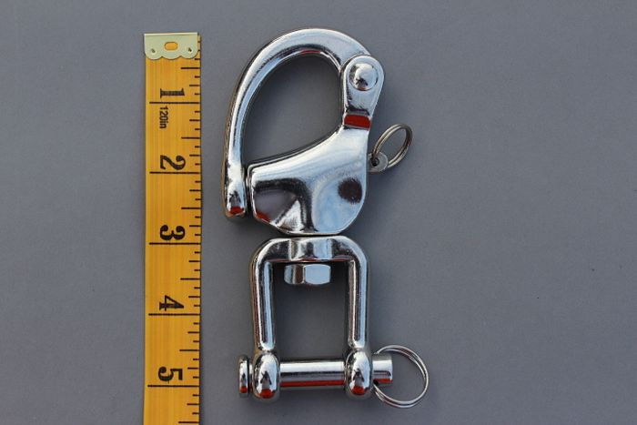 Quick release safety shackle large