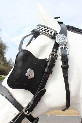 Friesian Leather Bridle