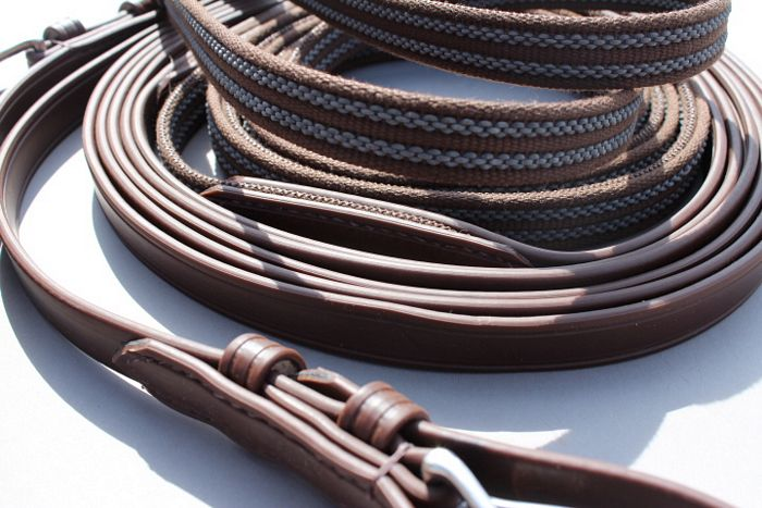Eurotech Synthetic / Anti-slip Reins - Pairs