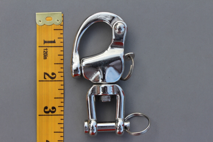 Quick release safety shackle small