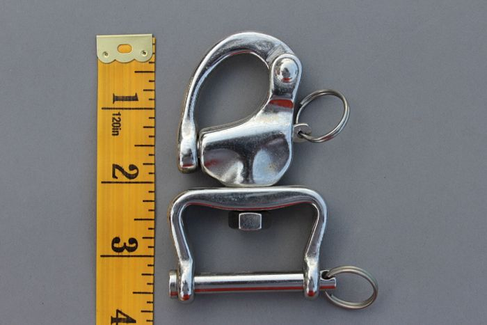 Quick release shackle