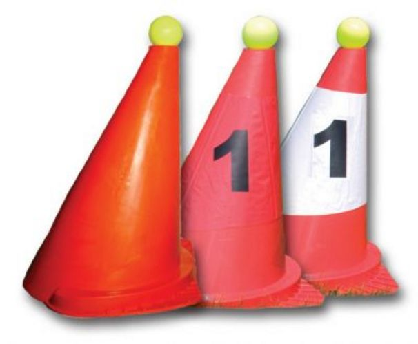 Number Sticker for cones